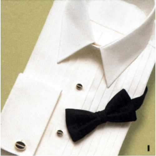 Neil Allyn Lay Down Collar Tuxedo Shirt