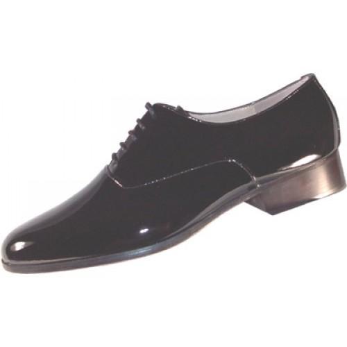 Roma Patent Leather Tuxedo Shoes