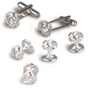 Double Knot Cufflinks and Studs