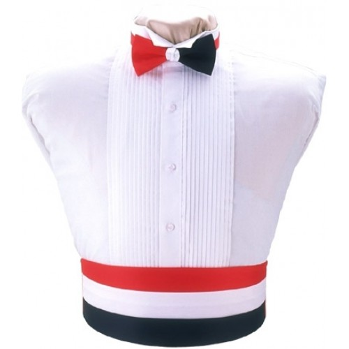 Red, White, and Blue Cummerbund and Tie Set