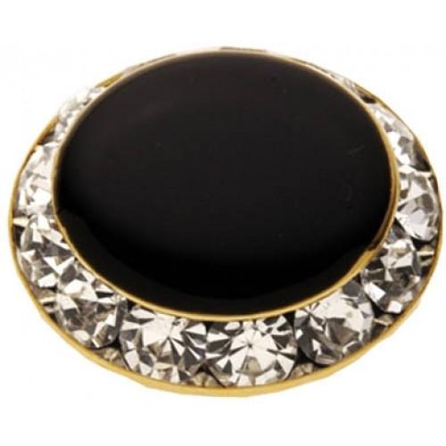 Rhinestone Button Cover