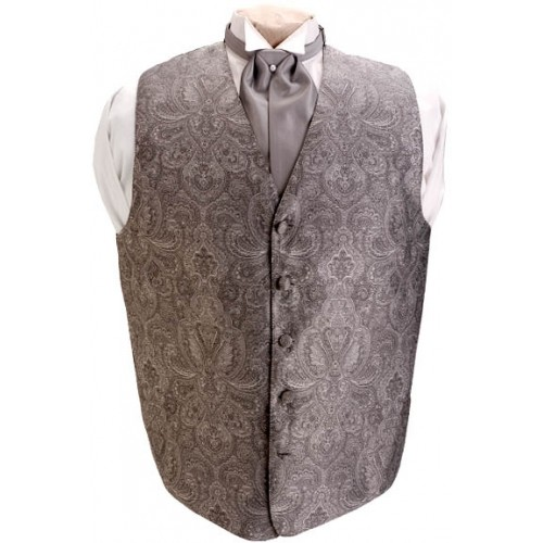 Brandon Michael Paisley Vest and Tie Set