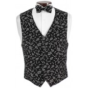 Symphony Musical Vest and Bow Tie Set