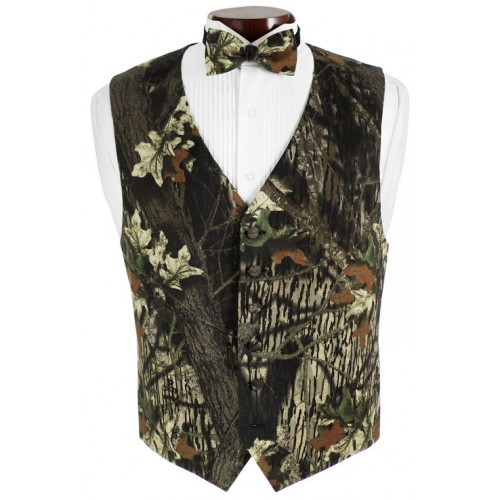 Mossy Oak® Vest and Bow Tie Set