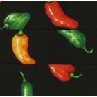 Chili Peppers Cummerbund and Bow Tie Set