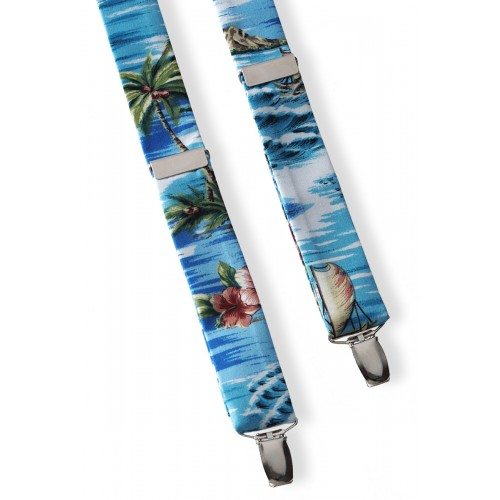 Novelty Print Suspenders