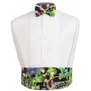 Under the Sea Cummerbund and Bow Tie Set
