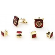 Knights of Columbus Cufflink and Stud Set