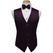 Custom Color Premier Vest and Tie Set