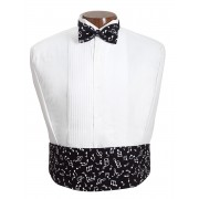 Symphony Musical Cummerbund and Tie Set