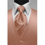 Custom Color Marquis Vest and Tie Set
