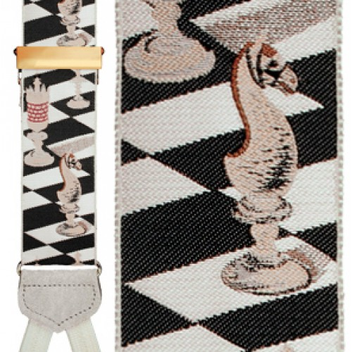 Checkmate Silk Suspenders