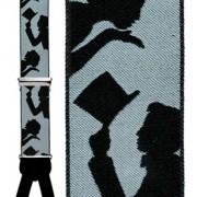 Top Hat Silk Suspenders