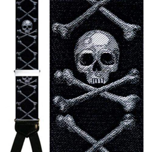 Aye Aye Captain Silk Suspenders
