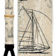 Nautical Dreams Silk Suspenders