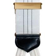 Subtle Stripe Silk Suspenders