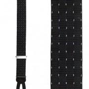 Pindot Silk Suspenders