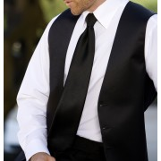 Bob White or Ivory Lay Down Collar Tuxedo Shirt