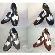 Spectator Two Tone Tuxedo Shoes