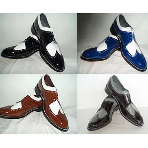 Baldwin Two Tone Tuxedo Shoes
