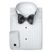 Perry Ellis Wing Collar Tuxedo Shirt