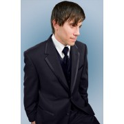 The Edge Two Button Navy Tuxedo