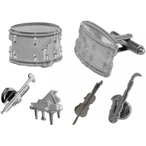 Musical Instruments Cufflinks and Studs