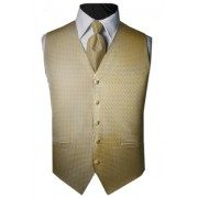 Custom Color Venetian Tuxedo Vest and Tie Set