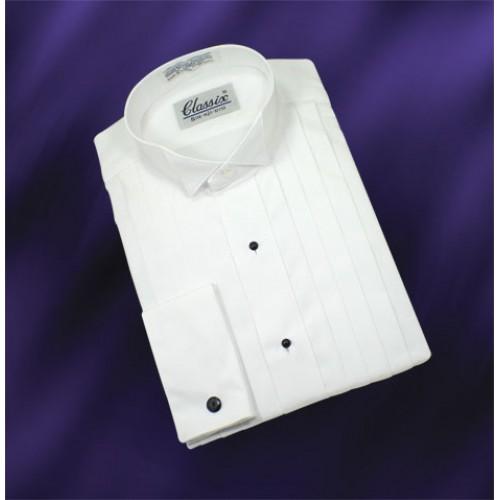 Classix Wing Collar Tuxedo Shirt