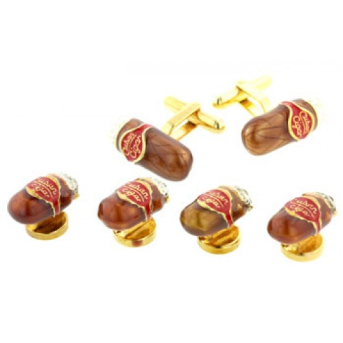 Cigar Cufflinks and Studs