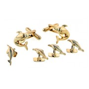 Dolphin Cufflinks and Studs