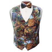 King of the Jungle Vest and Tie Set