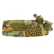 Safari Cummerbund and Tie Set