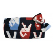 Pop Art Peace Cummerbund and Tie Set