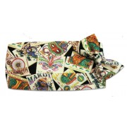 Mardi Gras Jazz Posters Cummerbund and Tie Set