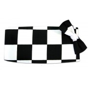 Victory Racing Flag Cummerbund and Tie Set