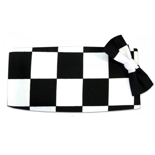 Victory Racing Flag Cummerbund and Tie Set
