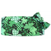 Lucky Charm Shamrocks Cummerbund and Bow Tie Set