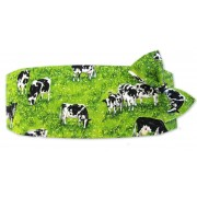 Rolling Hills Cow Cummerbund and Tie