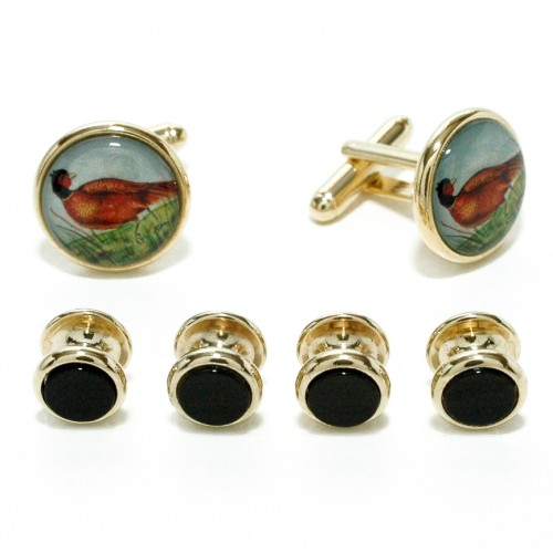 Hunter's Cufflinks and Studs