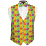 Mardi Gras Coins Vest and Tie