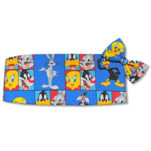 Daffy Duck and Friends Cummerbund and Tie
