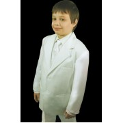 Boy's Formal White Suit
