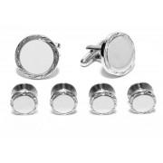 Aberdeen Silver Cufflinks