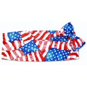 Patriotic Cummerbund and Bow Tie Set