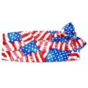 Patriotic Cummerbund and Bow Tie Set