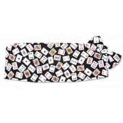 Deck of Cards Cummerbund and Bow Tie Set