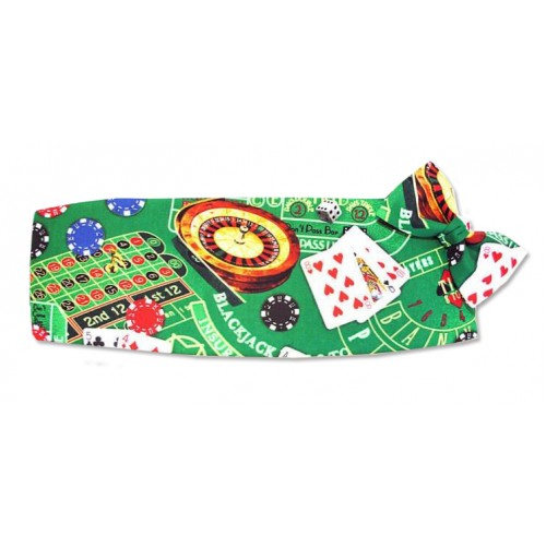 Las Vegas Table Games Cummerbund and Tie Set