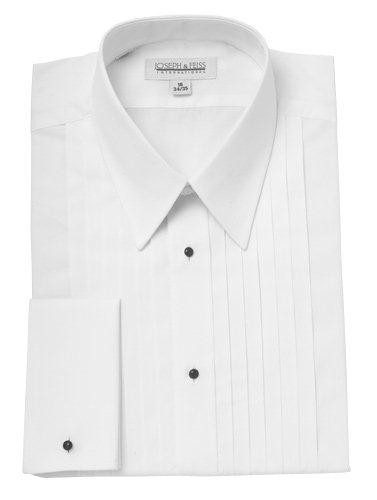 Joseph and Feiss Lay Down Collar Tuxedo Shirt
