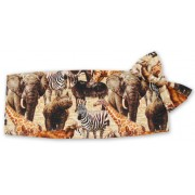 Out of Africa Cummerbund and Tie Set